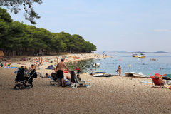 croatia ferier Arkivfoto