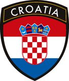 Croatia  flag Stock Image