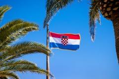 Croatia flag Stock Image