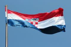 Croatia flag Royalty Free Stock Image