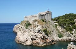 Croatia fort Stock Photo