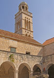 croatia fransciscan kloster royaltyfria foton