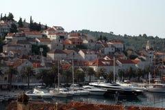 Croatia harbor Royalty Free Stock Photo
