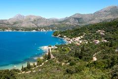 croatia hav Arkivbilder
