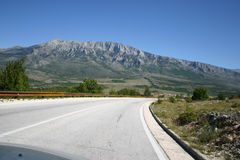 Croatia Highway Royalty Free Stock Photos