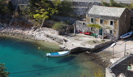 croatia hus Arkivfoto