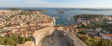 croatia hvar ö royaltyfria foton