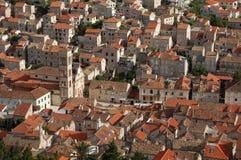 croatia hvar town Royaltyfri Bild