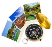 Croatia images and compass Royalty Free Stock Photos