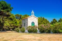 Free Croatia, Island Of Dugi Otok, Old Stone Church Of Veli Rat Royalty Free Stock Photos - 185778908