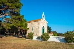 Free Croatia, Island Of Dugi Otok, Old Stone Church Of Veli Rat Royalty Free Stock Photography - 185781137