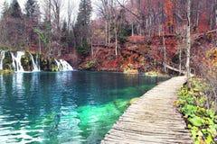croatia jezior park narodowy plitvice sostavtsy siklawy Zdjęcie Royalty Free