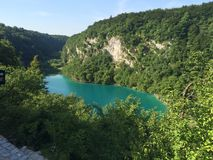 croatia jezior park narodowy plitvice sostavtsy siklawy fotografia stock