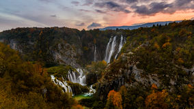 croatia jezior park narodowy plitvice sostavtsy siklawy obraz royalty free