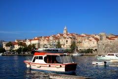 croatia korcula fotografia stock