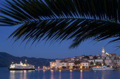 Croatia - Korcula island Royalty Free Stock Image