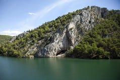 Croatia. Krka. National Park. River Royalty Free Stock Images