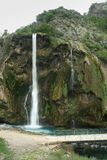 croatia krkavattenfall Royaltyfri Bild