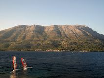 croatia kullar Arkivfoto