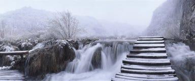 Croatia - lagos Plitvice Imagem de Stock Royalty Free
