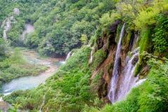 Croatia - lagos Plitvice Imagen de archivo