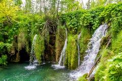 Croatia - lagos Plitvice Imagenes de archivo