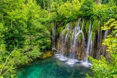 Croatia - lagos Plitvice Fotografía de archivo