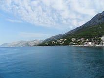 Croatia. Landscape in Croatia - mountains, beaches and sea Stock Image