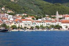 croatia makarska Arkivfoton