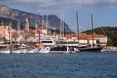 Croatia - Makarska Royalty Free Stock Photos