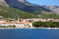 Croatia - Makarska Stock Photo