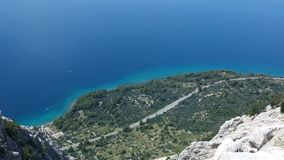 Croatia. Makarska beach summer 2014 Royalty Free Stock Photos