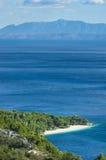 Croatia - Makarska riviera fotografia de stock royalty free