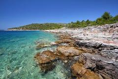 Croatia - mar adriático Foto de archivo libre de regalías
