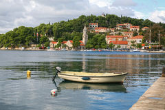 Croatia Medieval Village Royalty Free Stock Images
