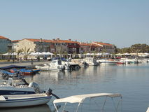 Croatia-Medulin. Medulin (Italian: Medolino) is a small town and municipality in the southern part of the Istrian peninsula in Croatia. At the 2011 census the Stock Image