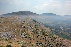 Croatia mountain and hills  Royalty Free Stock Photos