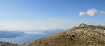 Croatia / Mountains, Sea and Islands Royalty Free Stock Images