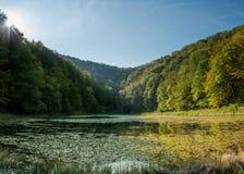 Croatia - Nature park Papuk - Lake Jankovac royalty free stock photo