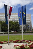 Croatia new member of EU Royalty Free Stock Photo