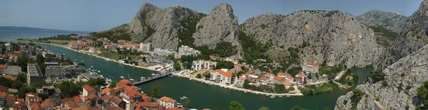 Croatia Omis Royalty Free Stock Photo
