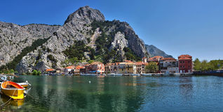 Croatia - Omis - Dalmatia  Stock Photo