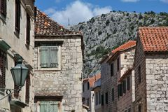 Croatia - Omis Royalty Free Stock Photography