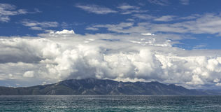 Croatia panoramic seascape Royalty Free Stock Images