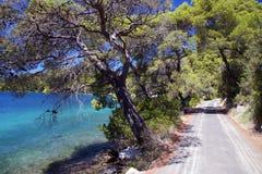 Croatia: Paraíso en la isla de Mljet Foto de archivo libre de regalías