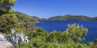 Croatia: Paraíso en la isla de Mljet Fotos de archivo