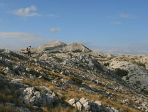 Croatia / Paradise For Trekking / Biokovo Mountain Royalty Free Stock Images