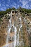 croatia parkowa plitvice tęcza zdjęcie stock