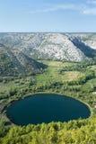 Croatia - parque nacional de Krka fotografia de stock royalty free
