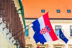 Croatia - part of European Union. Stock Photos